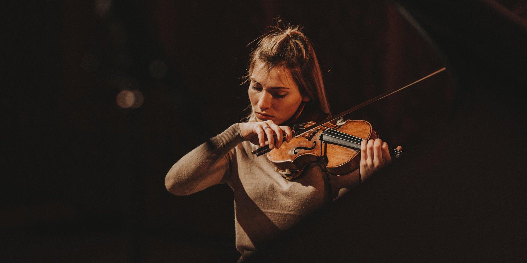 Diana Tishchenko / Rehearsal at the Elbphilharmonie