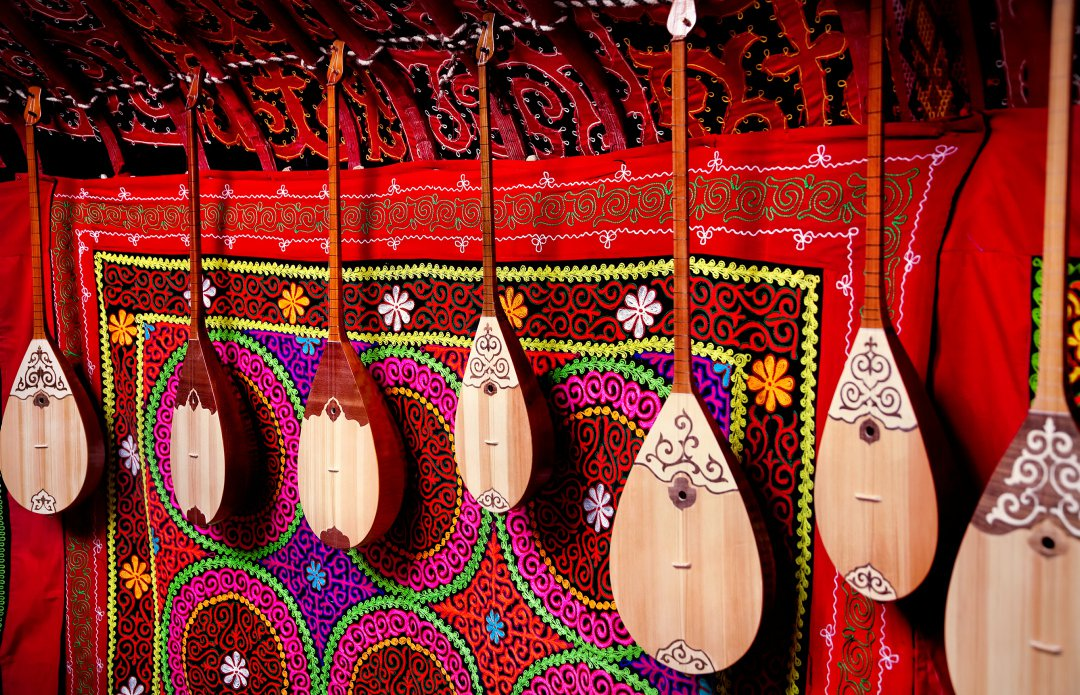 String Instruments of the Silk Road