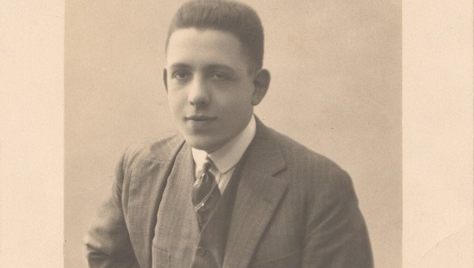 Francis Poulenc (Postkarte, 1923)